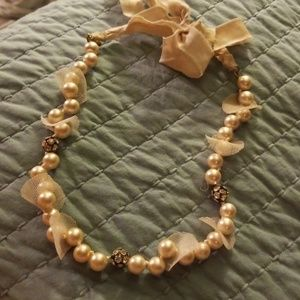 💖👉 Lacey pearl necklace
